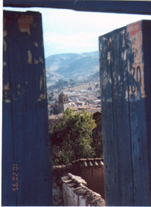 Cuzco Peru doorway